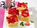 Erdbeer-Vanille-Schnitten Rezept