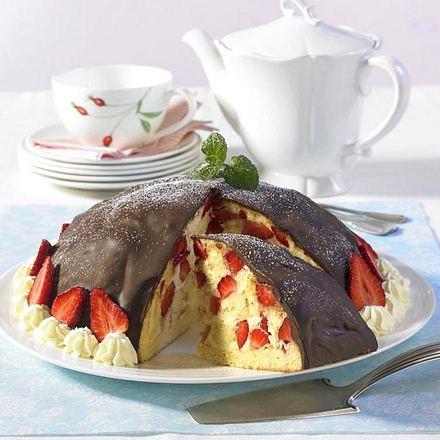 erdbeerbombe mit vanillecreme rezept chefkoch rezepte auf kochen backen und. Black Bedroom Furniture Sets. Home Design Ideas