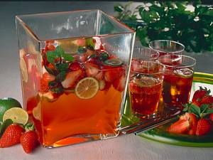 Erdbeerbowle Rezept