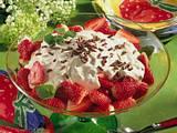 Erdbeeren mit Vanille-Joghurt-Creme Rezept