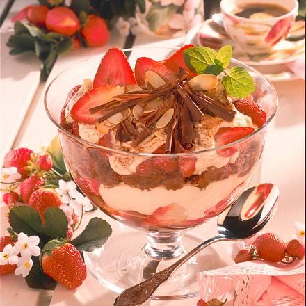 Erdbeeren-Tiramisu Rezept