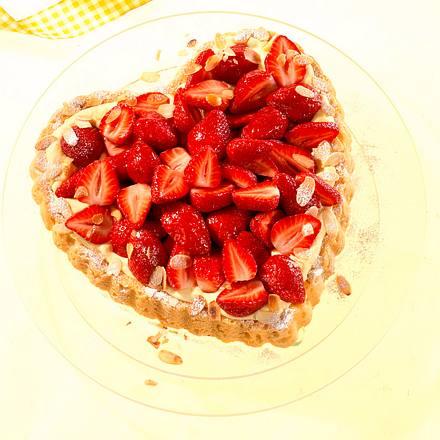Erdbeerherz Rezept
