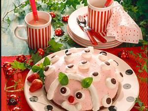 Erdbeerquark-Marienkäfer Rezept