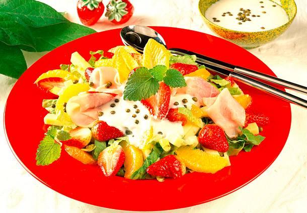 Erdbeersalat Rezept