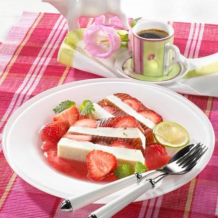 Erdbeerschichtcreme Rezept