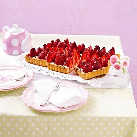 Erdbeertarte (Titel) Rezept