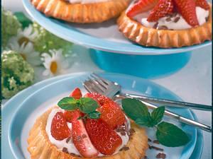 Erdbeertörtchen Rezept