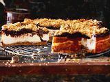 Erdnuss-Cheesecake mit Streuseln Rezept
