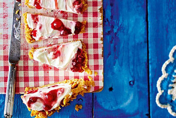 Erdnuss-Frosties-Ecken Rezept