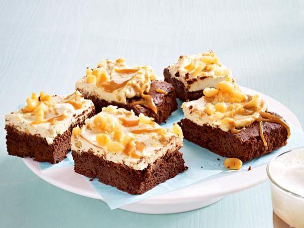 Erdnuss-Karamell-Brownie Rezept