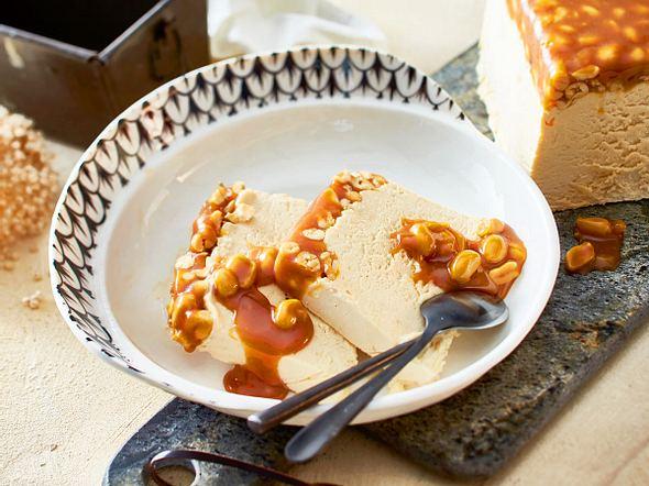 Erdnuss-Karamell-Eis Rezept