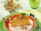 Erdnuss-Karamell Mousse (Snickers Pudding) Rezept