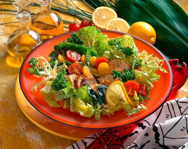 Erfirschender Hähnchensalat Rezept
