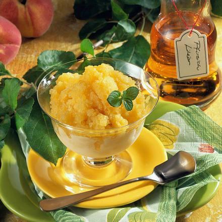 Erfrischendes Pfirsich-Sorbet Rezept