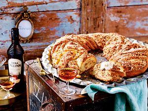 Estnischer Kringle mit Zimt und Mandeln rezept