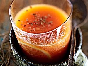 Exotische Drinks: Papaya-Zitronen-Drink mit weißem Tee und geröstetem Koriander Rezept
