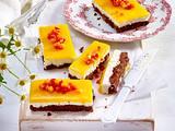 Exotische Erdbeer-Mango-Schnitten Rezept