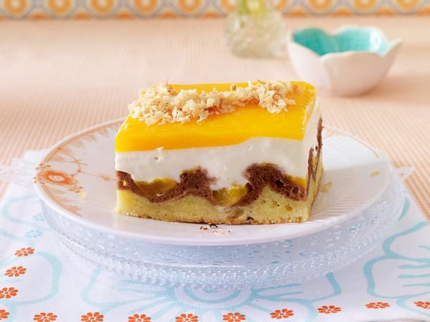 Exotische Mango-Joghurt-Welle Rezept