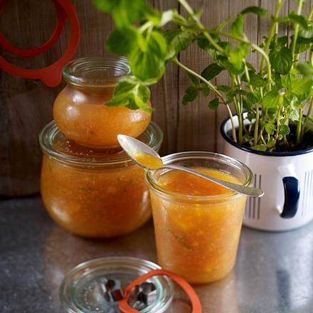 Exotische Pfirsich-Konfitüre Rezept