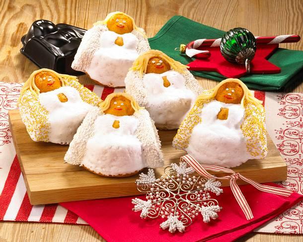 exotische weihnachtsengel aus r hrteig rezept chefkoch. Black Bedroom Furniture Sets. Home Design Ideas
