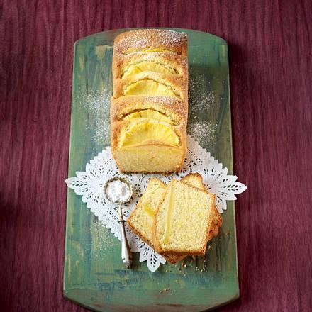 Exotischer Zitronen-Ananas-Kuchen Rezept