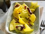 Exotisches Früchte-Ragout in Gewürzsirup Rezept