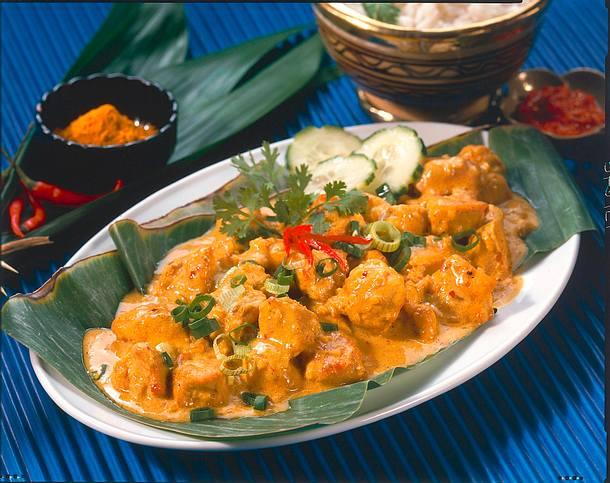 Exotisches Hähnchen-Curry Rezept