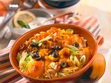 Exotisches Reisgericht mit Minz-Joghurtsoße Rezept