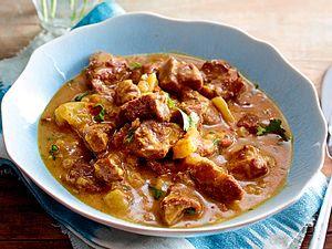 Exotisches Rindercurry in Kokossoße Rezept
