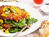 Express-Fritters mit Mangosalsa Rezept