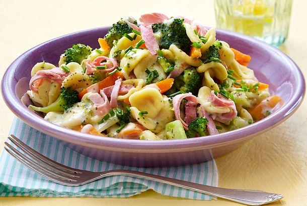 Expresspasta mit Brokkoli in Frischkäsesoße Rezept
