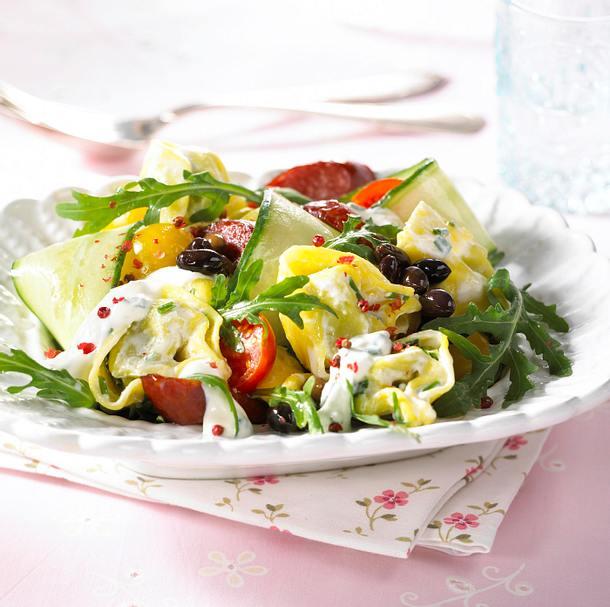 Tortellini-Salat mit Cabanossi Rezept