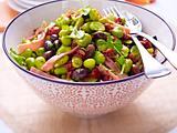 Salade de fèves Rezept