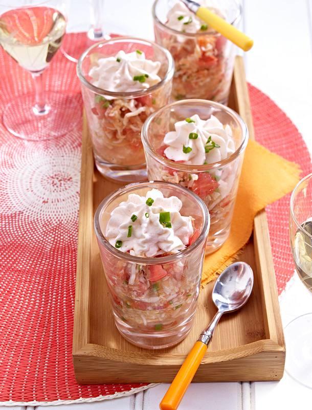 Crabe aux agrumes, nuage de tarama Rezept