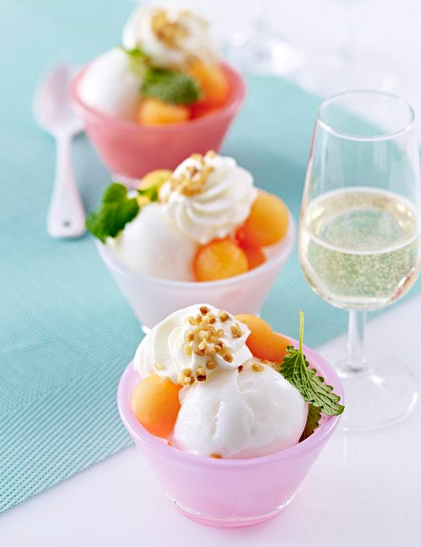 Coupe fruitée Rezept