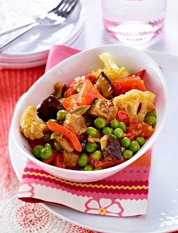 Légumes aux épices Rezept