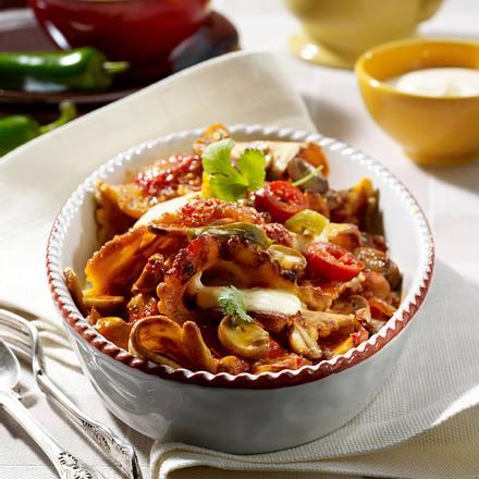 Fajita-Gemüse-Pfannkuchen Rezept