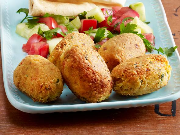 Falafel mit Petersilie und Chili Rezept