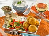 Falafel mit Petersiliensalat Rezept