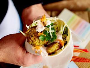 Falafel-Pita à la Naschmarkt Rezept