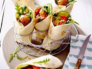 Falafel-Wrap Rezept