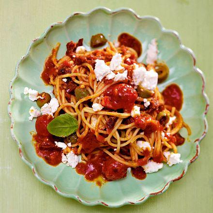 Famous Spaghetti rot-weiss Rezept