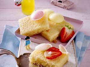Fanta-Kuchen mit Brause-Ufos Rezept