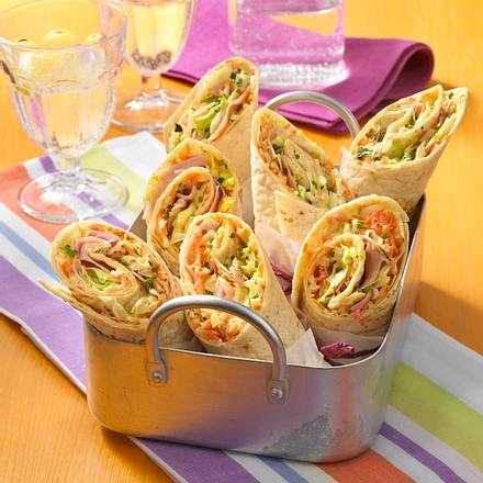 Farmers Wrap Rezept