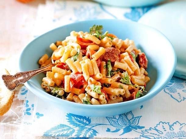 Feierabend-Retter: Power-Pasta mit Kabanossi Rezept