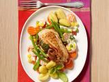 Feigen-Hähnchen mit Gemüse Rezept