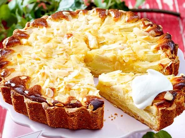 Feine Apfel-Mazarin-Tarte Rezept