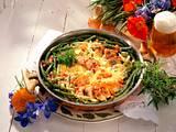 Feine Bohnen-Filet-Pfanne Rezept