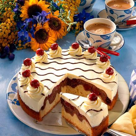 Feine Donauwellen Torte Rezept Lecker