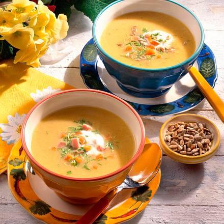 Feine Gemüse-Creme-Suppe Rezept